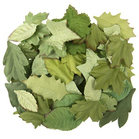Floral Leaf Embellishment