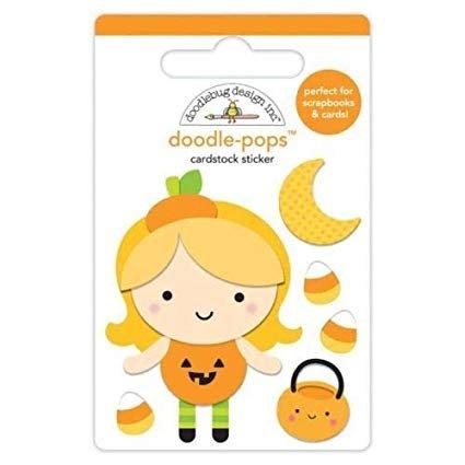 Doodlebug Doodlepops little pumpkin