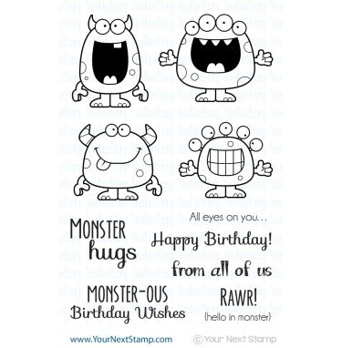 Your Next Stamp Silly Monsters