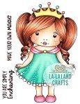 La-La Land Crafts Rubber Stamp Enchanted Marci