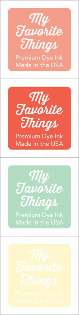 My Favorite Things Premium Dye Ink Cubes Set 16