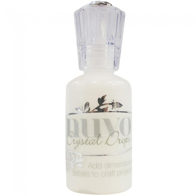 Nuvo CRYSTAL Drops: Gloss White