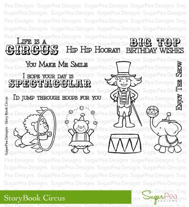 SugarPea Designs Stamp Storybook Circus