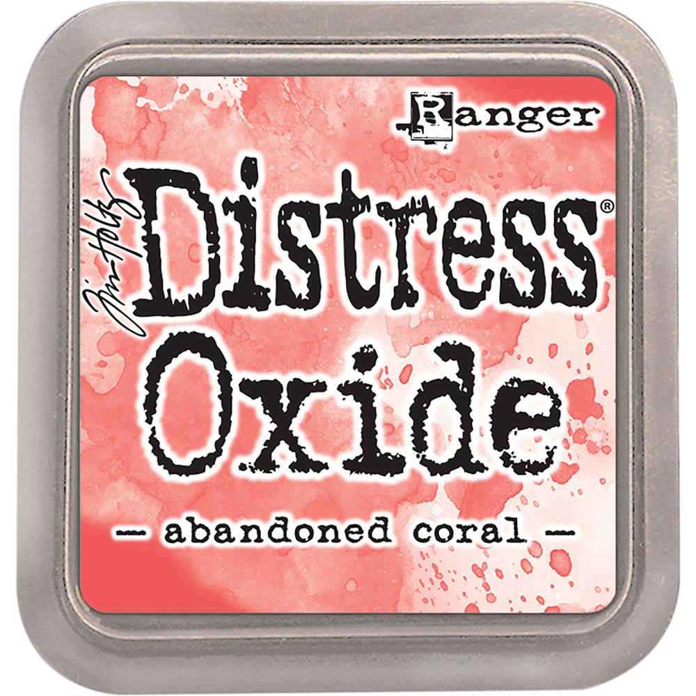 Tim Holtz Distress Oxides Ink Pad Abandoned Coral