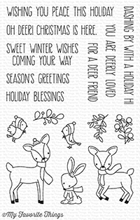 My Favorite Things Stamps Dashing Deer