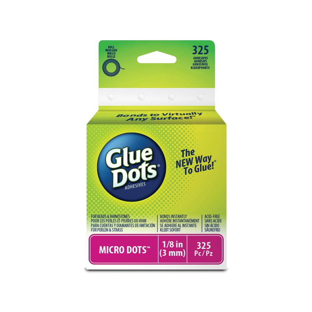 Glue Dots Clear Dot Roll Permanent Micro Dots