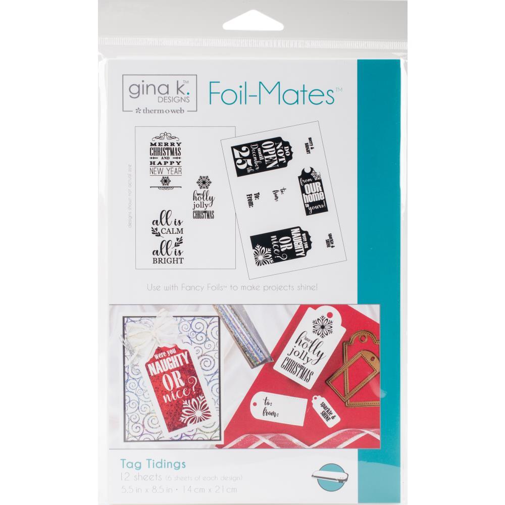 Gina K Designs Foil Mates: Tag Tidings
