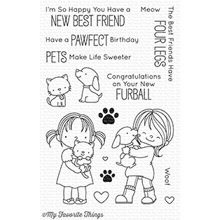 My Favorite Things Clear Stamps New Best Friend