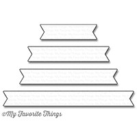 My Favorite Things Die-Namics: Essential Fishtail Sentiment Strips
