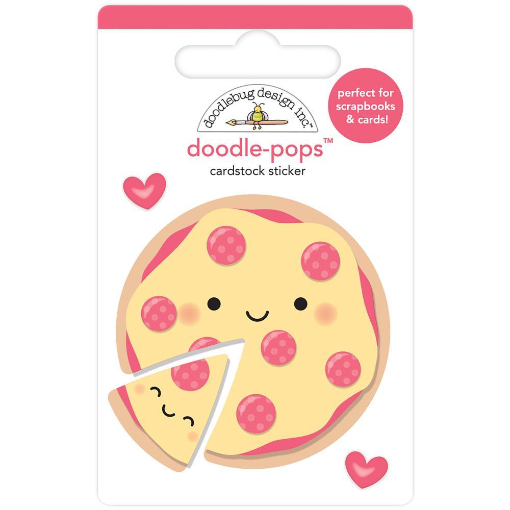 Doodlebug Doodle-Pops: Pizza Love