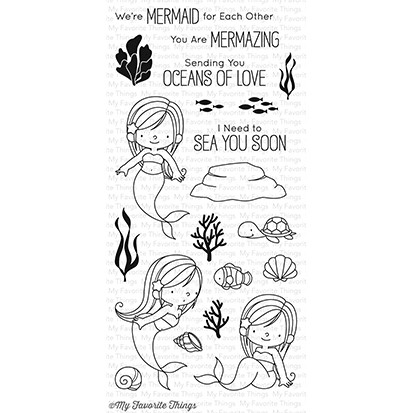 My Favorite Things Clear Stamps: Mermazing