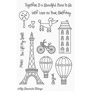 My Favorite Things Clear Stamps: In Paris