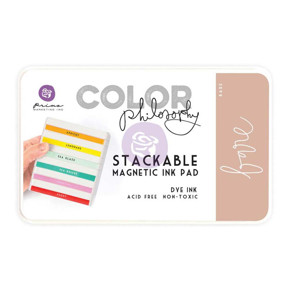 Prima Color Philosophy Dye Ink Pad: Bare