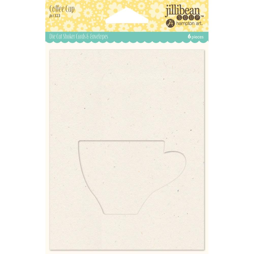 Jillibean Soup Shaker Cards with Envelope Coffee Cup