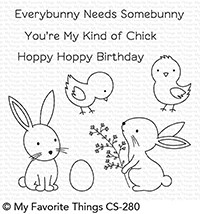 My Favorite Things Clear Stamps: Hoppy Friends