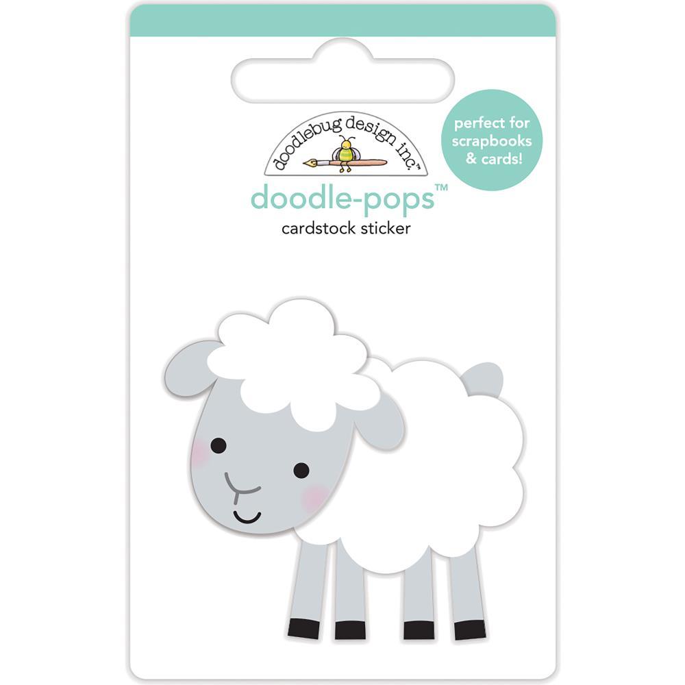 Doodlebug Design Doodle Pops: Little Lamb