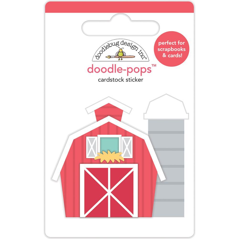 Doodlebug Design Doodle Pops: Red Barn