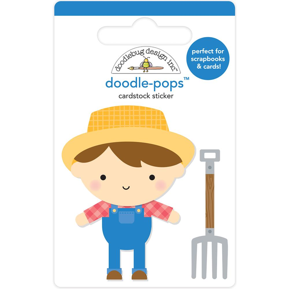 Doodlebug Design Doodle Pops: Farmer Joe