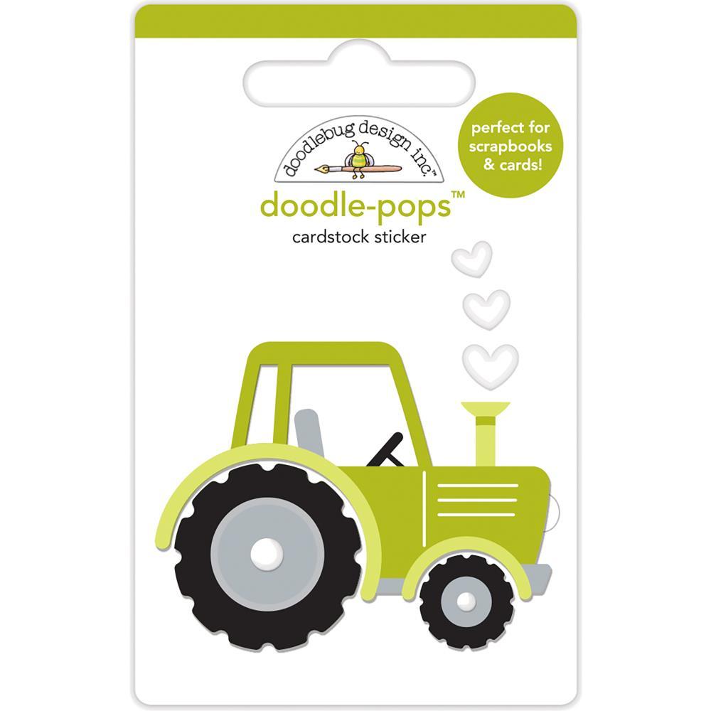 Doodlebug Design Doodle Pops: Trusty Tractor