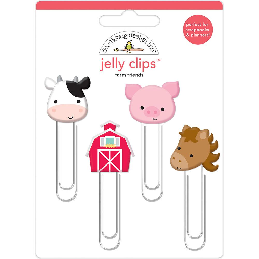 Doodlebug Design Jelly Clips: Down on the Farm