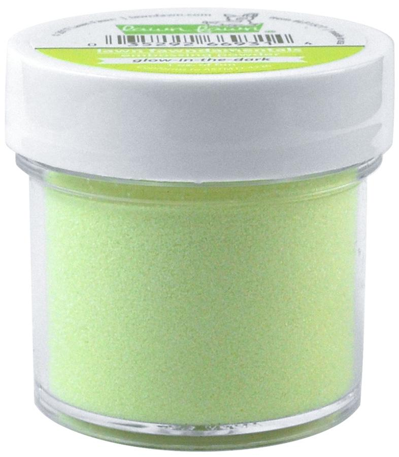 Lawn Fawndamentals: Glow-in-the-Dark Embossing Powder