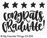 My Favorite Things Clear Stamps: Star Graduate