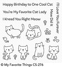 My Favorite Things Clear Stamps: Love You Furever