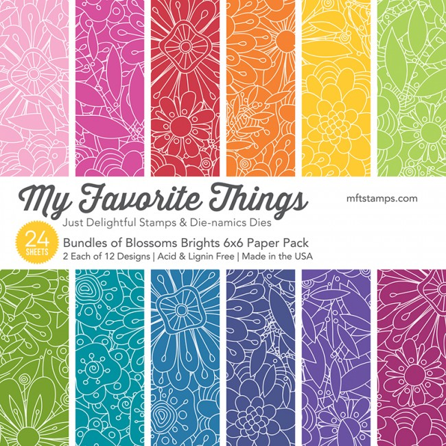 My Favorite Things 6x6 Paper Pad Bundles of Blossoms