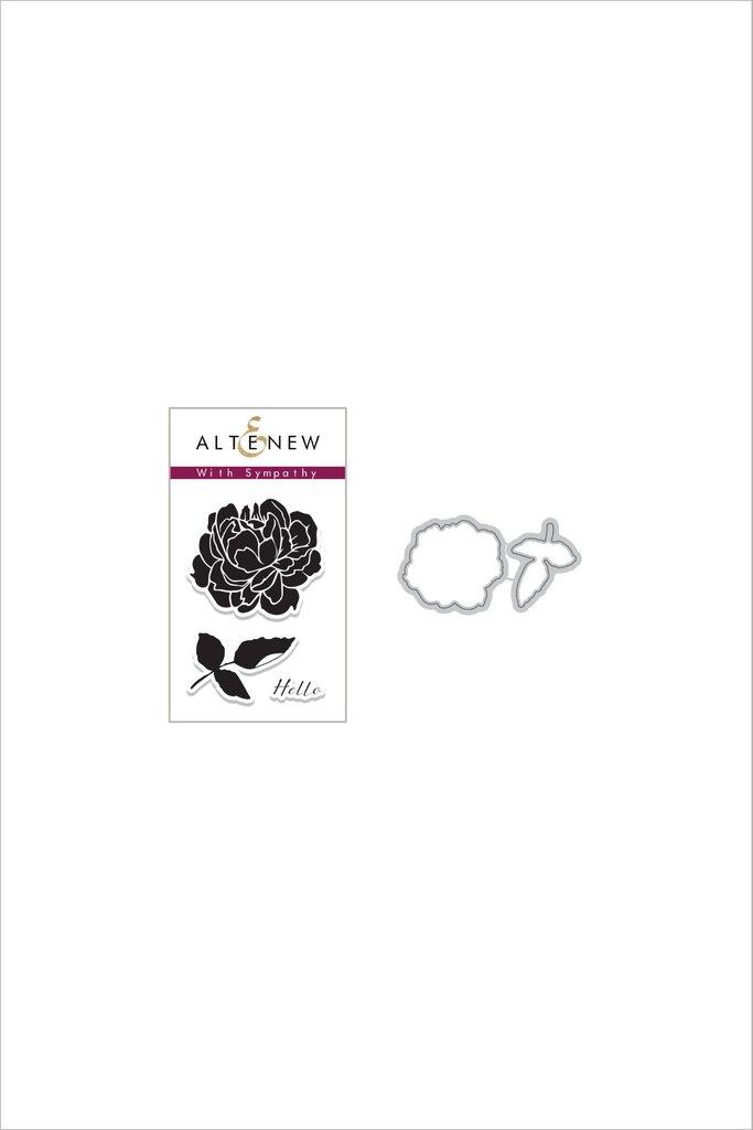 Altenew Stamp & Die Set: With Sympathy