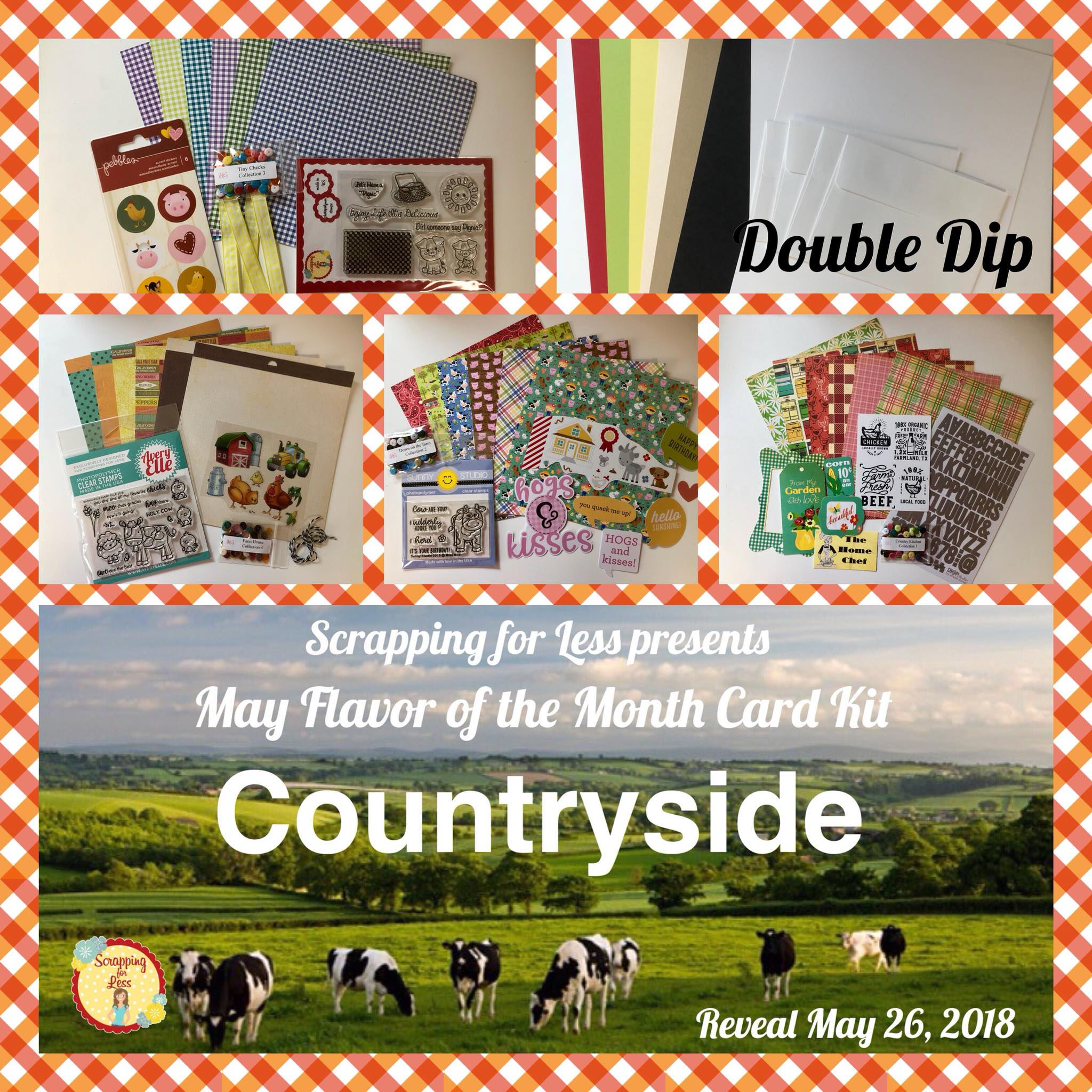 May Flavor of the Month Double Dip: Countryside