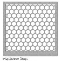 My Favorite Things Stencil: Mini Chicken Wire