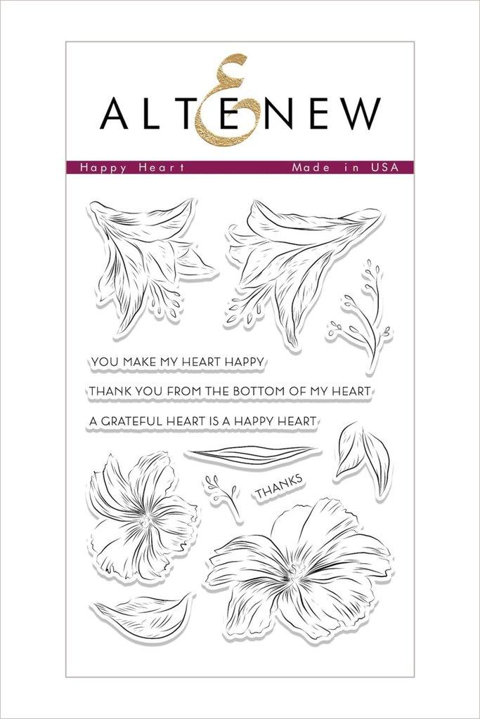 Altenew Stamp Set: Happy Heart