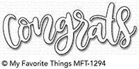 My Favorite Things Die-Namics: Congrats