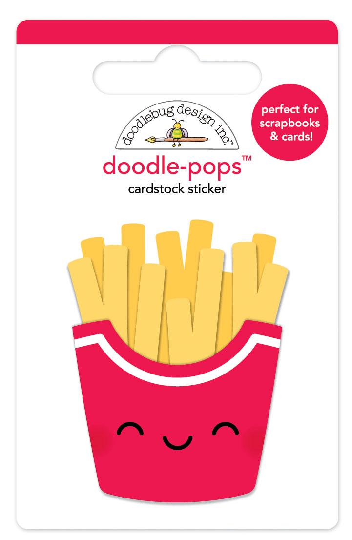Doodlebug Doodle-Pops: Fry Day