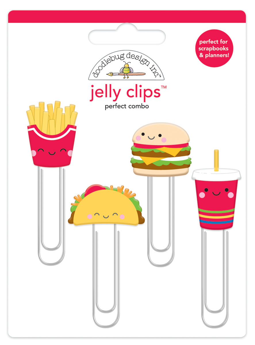 Doodlebug Jelly Clips: Perfect Combo