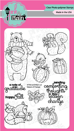 Pink & Main Clear Stamps: Season of Change