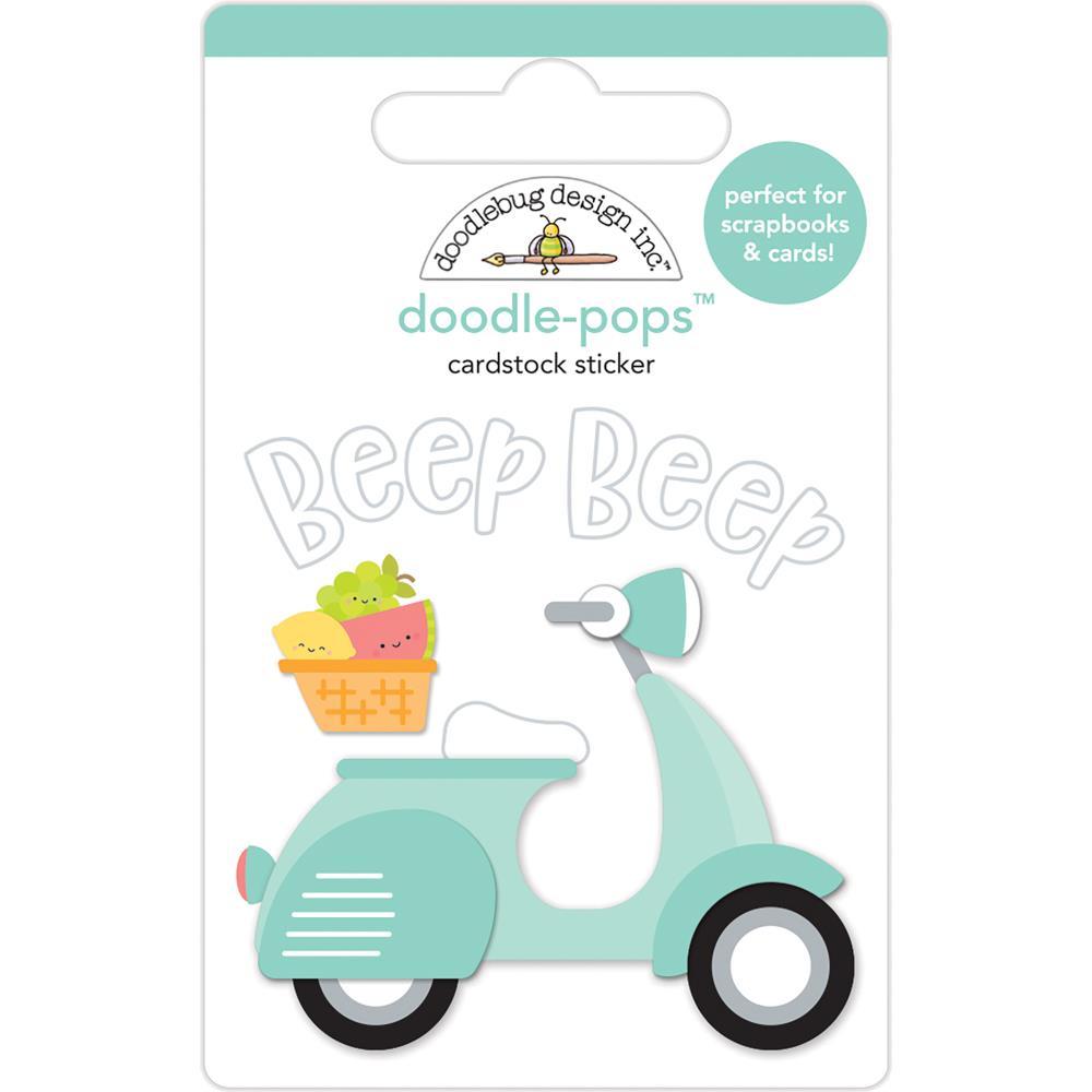 Doodlebug Design Doodle-Pops: Beep Beep