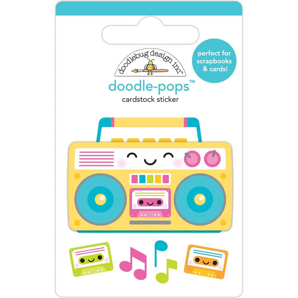 Doodlebug Design Doodle-Pops: Boom Box