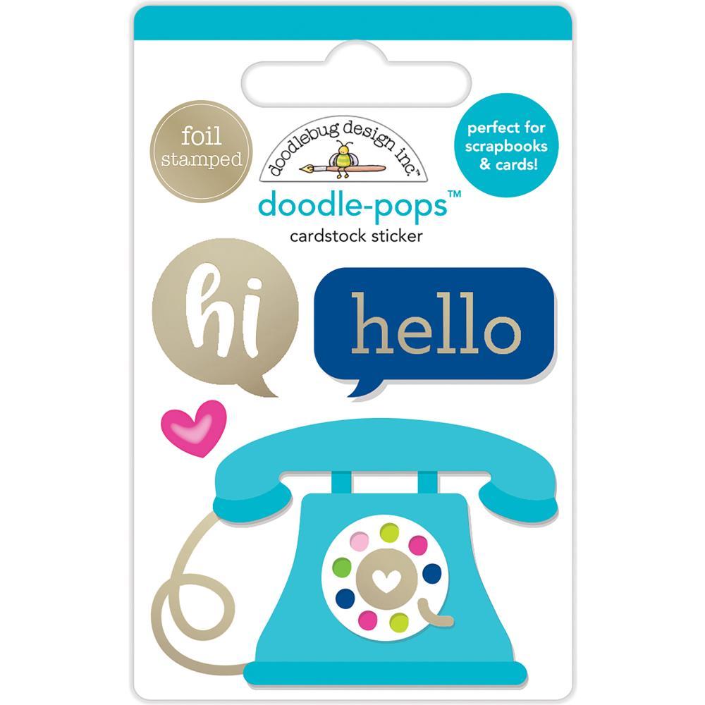 Doodlebug Design Doodle-Pops: Hello There