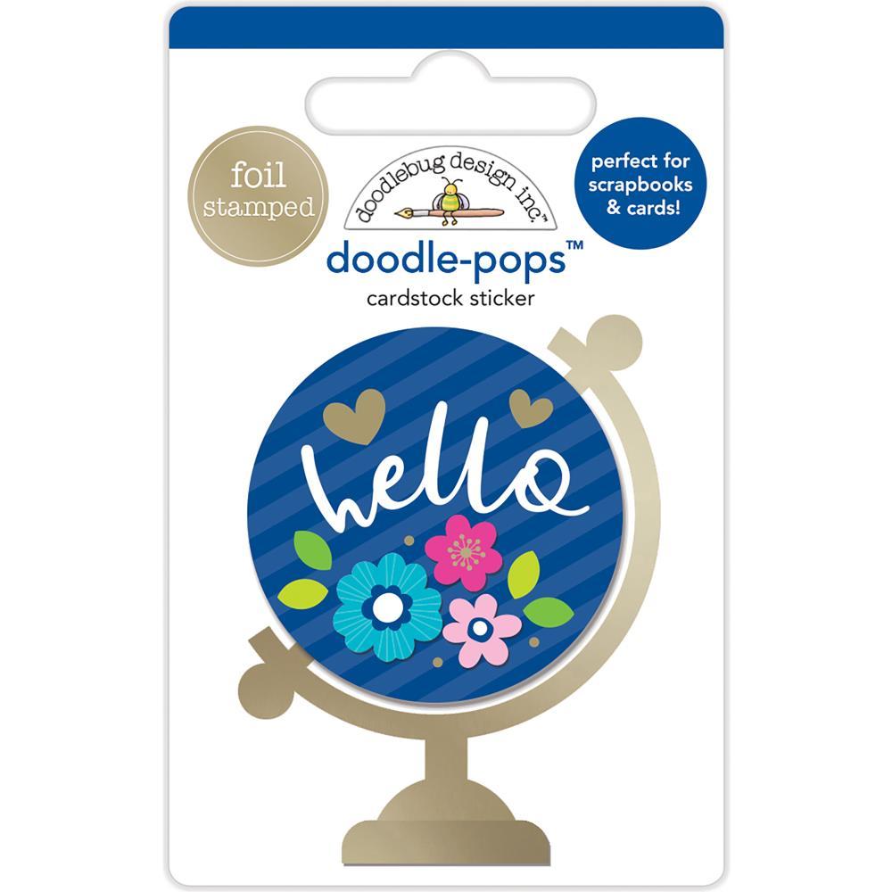 Doodlebug Design Doodle-Pops: Hello World