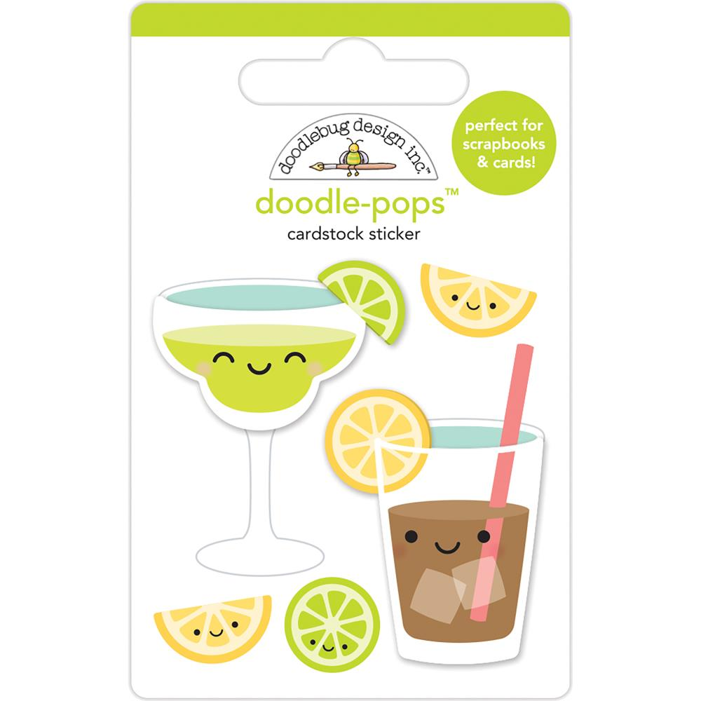 Doodlebug Design Doodle-Pops: Summer Sippers
