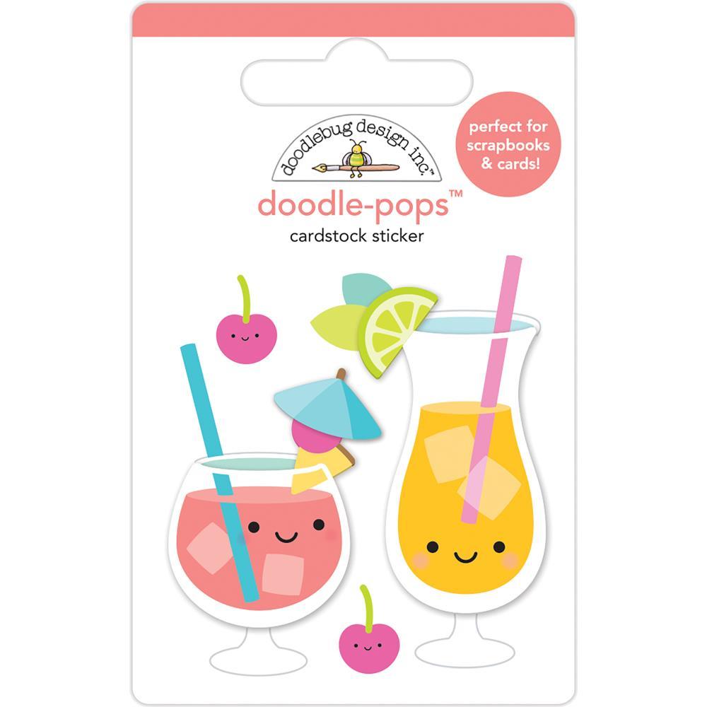 Doodlebug Design Doodle-Pops: Fruit Punch