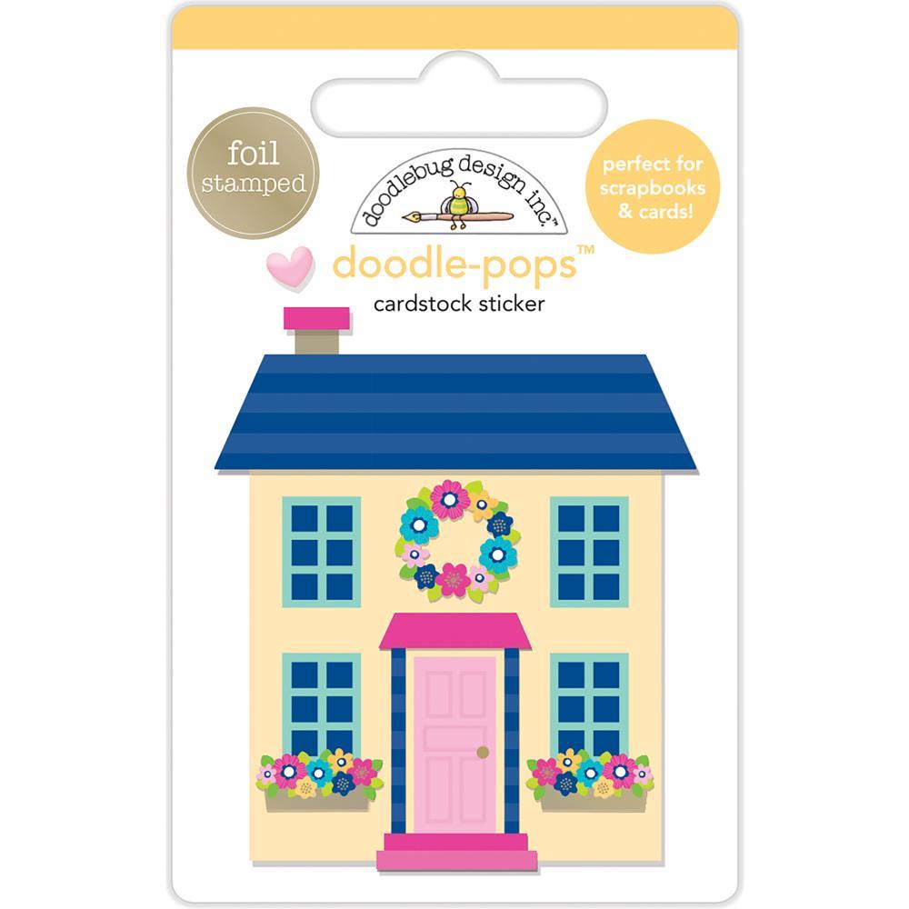 Doodlebug Design Doodle-Pops: Cute Cottage