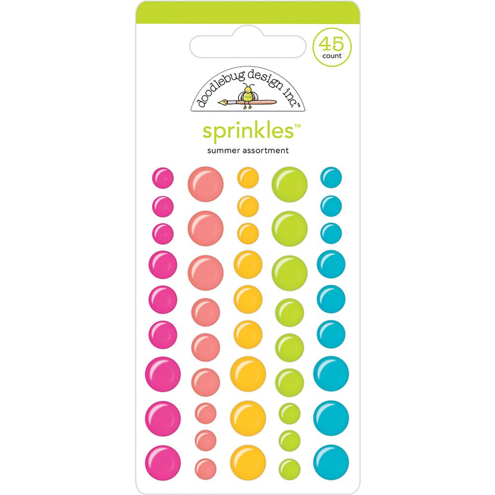 Doodlebug Sprinkles: Summer Assortment