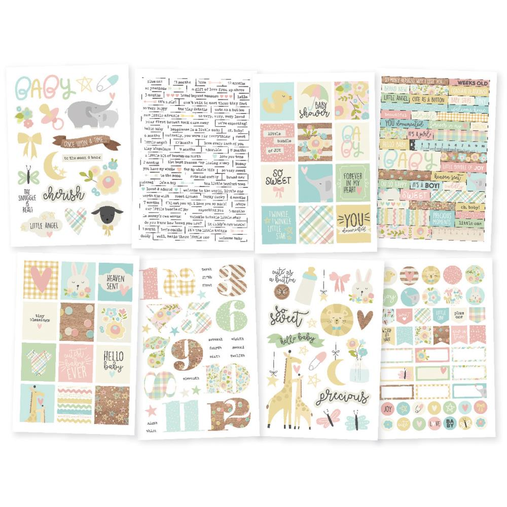 Simple Stories Stickers: Oh Baby!