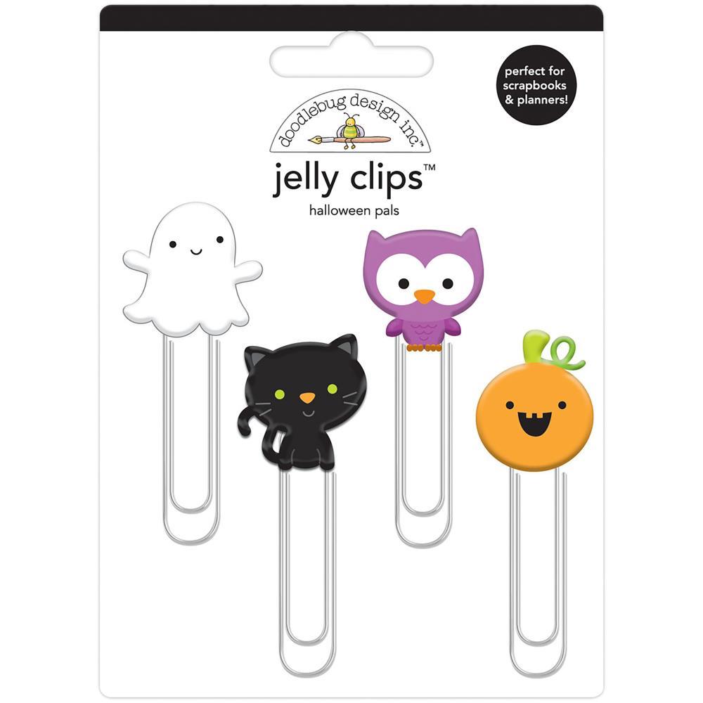 Doodlebug Design Jelly Clips: Halloween Pals