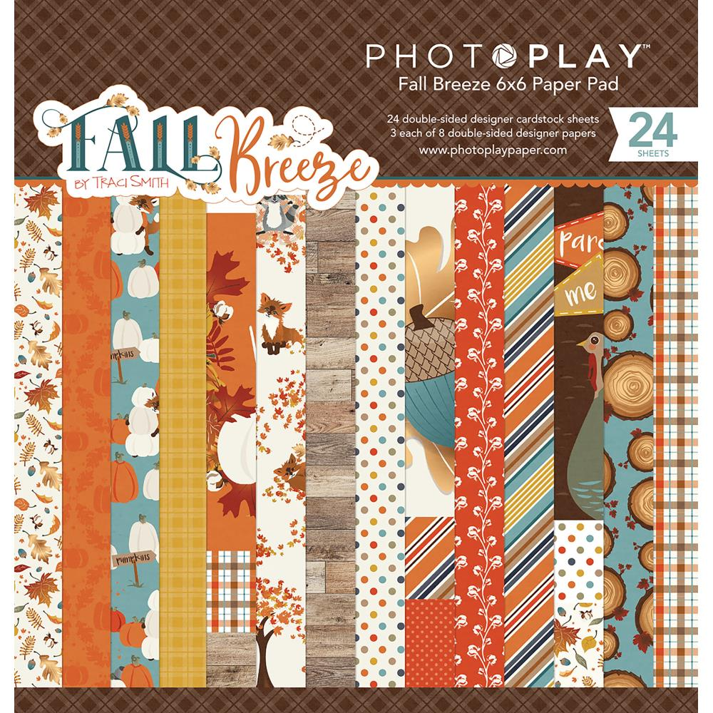 Photo Play 6x6 Paper Pad: Fall Breeze