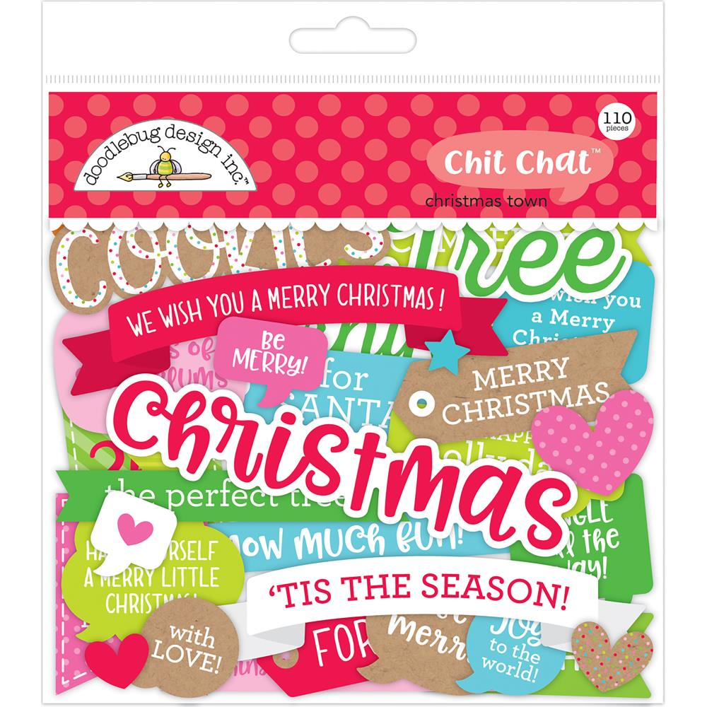 Doodlebug Designs Chit Chat: Christmas Town