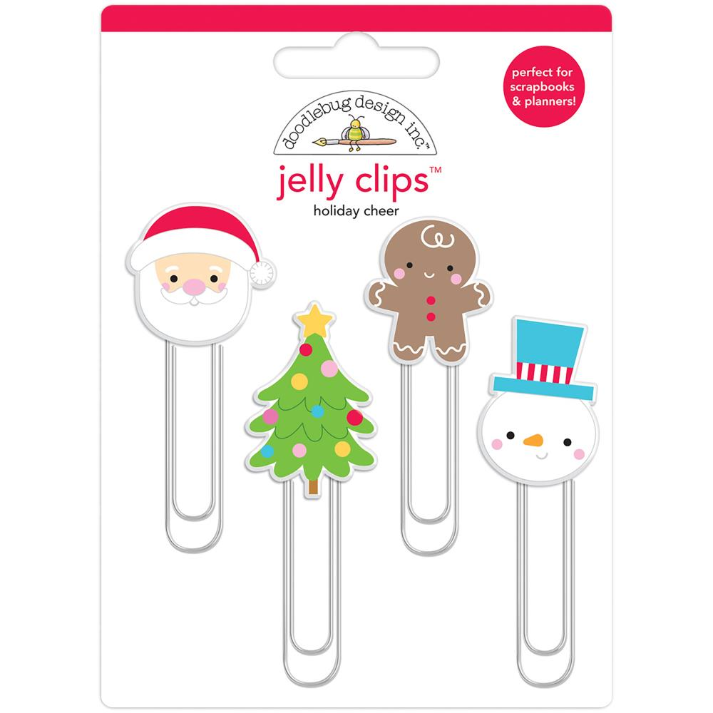 Doodlebug Design Jelly Clips: Holiday Cheer