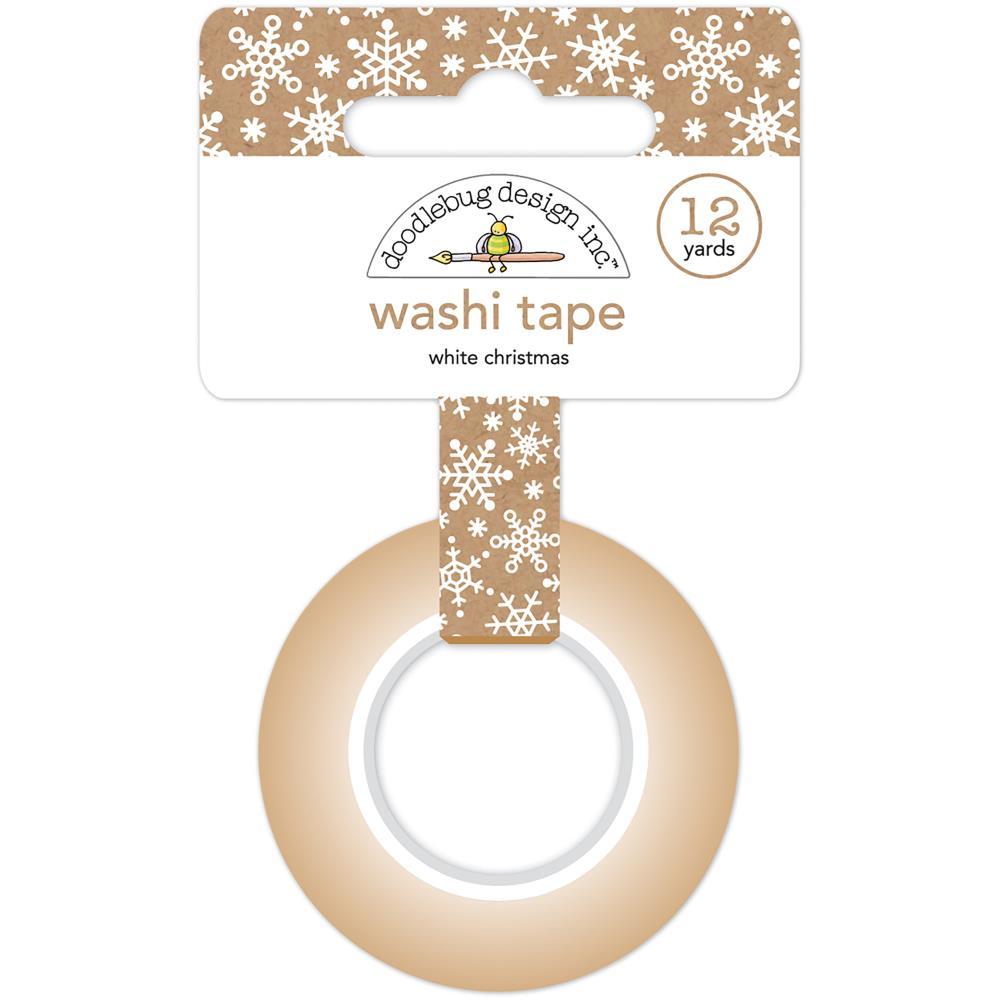 Doodlebug Design Washi Tape: White Christmas